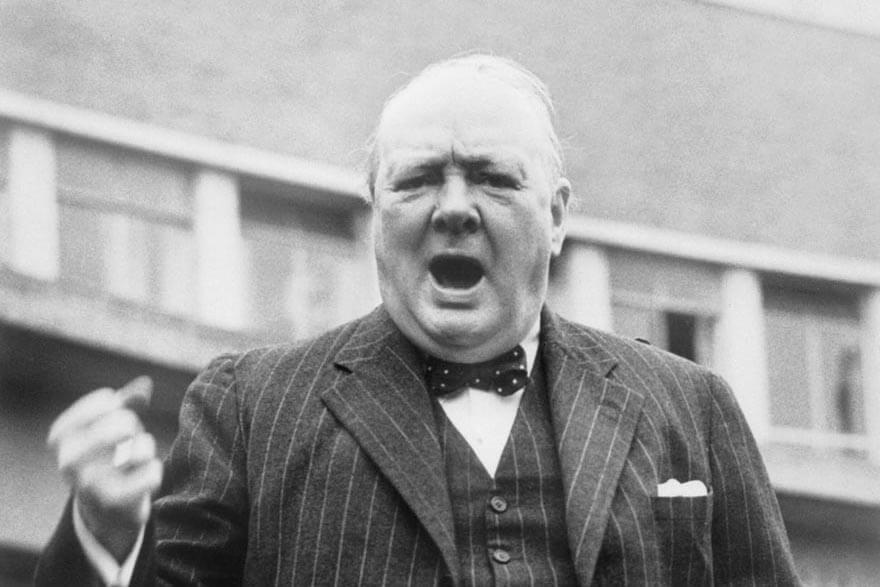 Churchills tal: Blod, svett och tårar