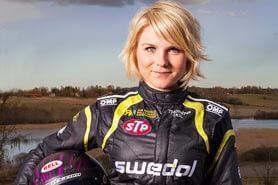 Ramona Karlsson - Rallyförare och föreläser inspirerande om att tänja gränser