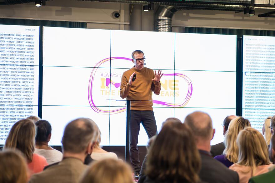 Tobias Degsell föreläsning om kreativitet