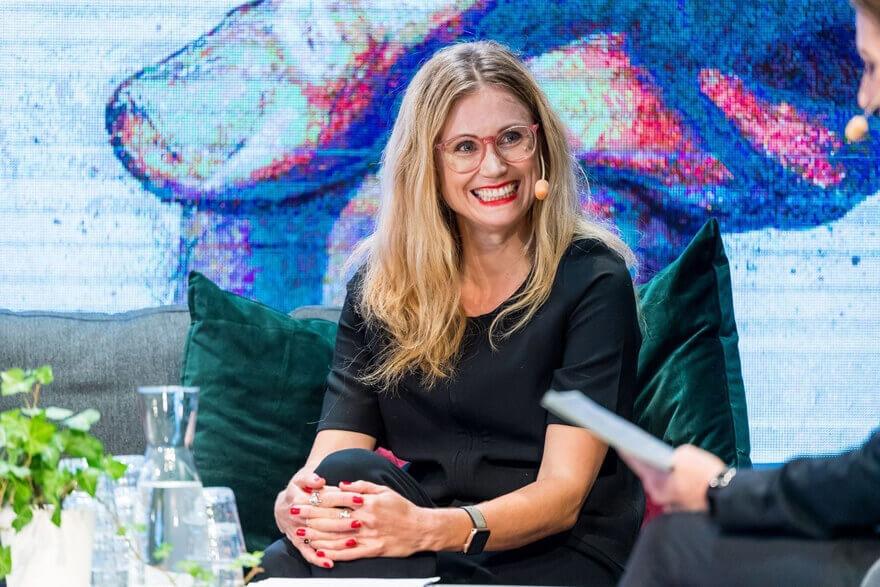 Judith Wolst föreläsning - Pressbild